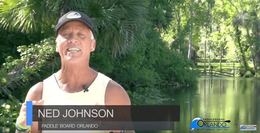 Ned Johanson SUP Tips Orlando