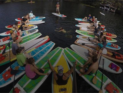 Corporate Paddle Outings & Team Building