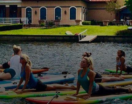 SUP Yoga Classes Orlando