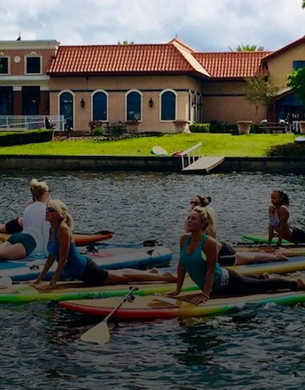 SUP Yoga Classes Orlando
