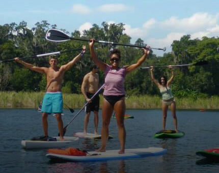 SUP Beginners lessons - Friendly First Timers