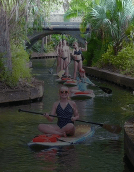 Venetian Canal SUP Cruise Orlando