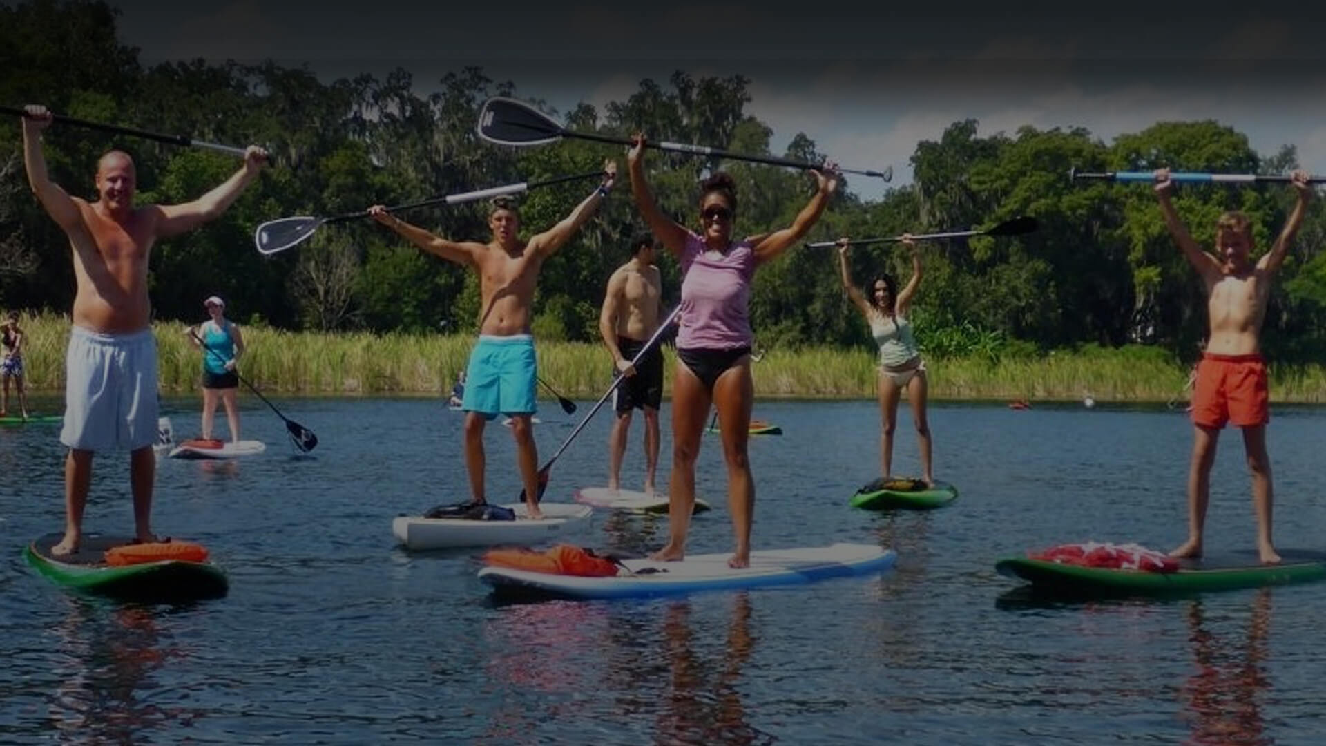 Beginners SUP Lessons, Friendly First Timers Orlando, FL