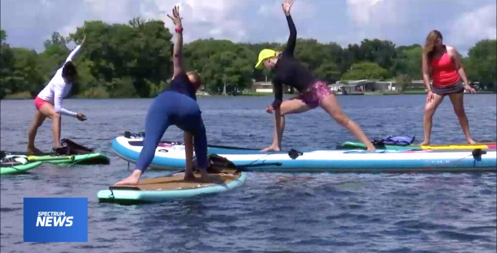 SUP Yoga Orlando Winter Park