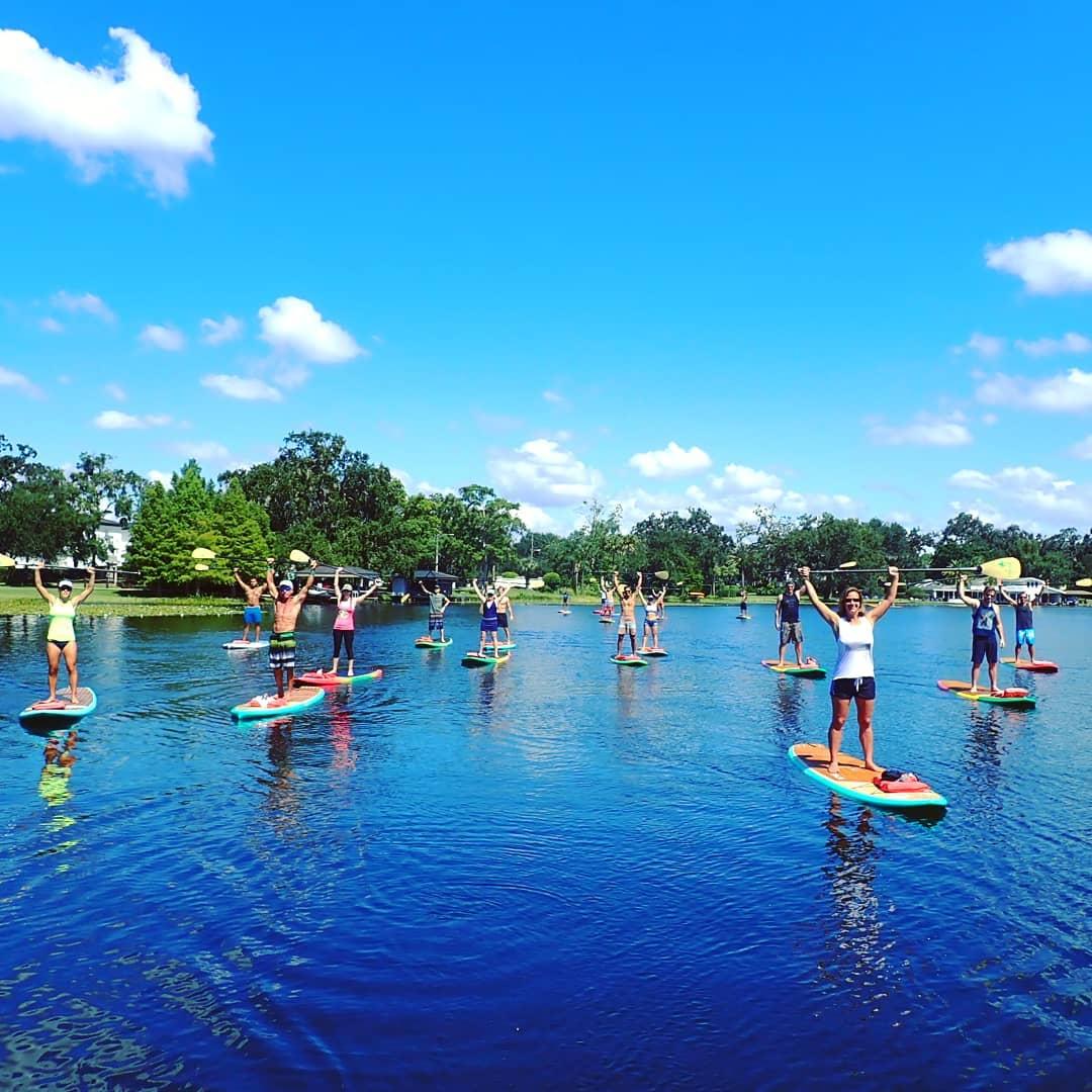Paddleboard Orlando Paddle Tours Adventures