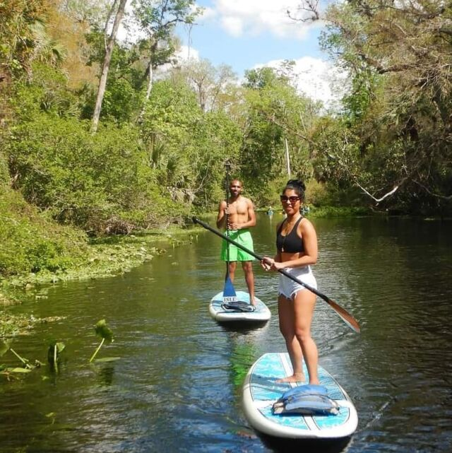 It's Island Time. 🏝 Join Us for one of our Wekiva Island SUP and Swim Adventures. RSVP on our BIO Link.  . . . . . #wekiva  #longwood #islandlife #sup #swim #floridasprings #vacationvibes #florida #doorlandonorth