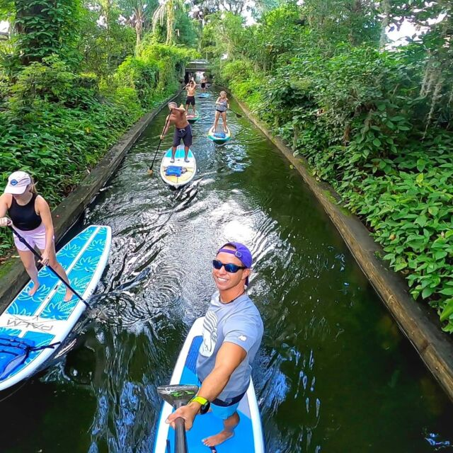 We're Back in Winter Park for our Famous Friendly First Timers Tour Every Saturday through Summer !!!!  . . . . .  Join Us!!! Check out our 2021 Spring/Summer Calendar. So Many Week Day and Weekend Adventures!!! . . . . . #vacation #vacationflorida #winterpark #chainoflakes #iluvwinterpark #paddleboarding #adventureready #friendlyfirsttimers #paddleboardorlando #orlandopaddleboard